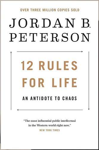 Click for info about 12 Rules for Life book