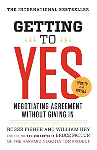 Click for more about the Getting to YES book